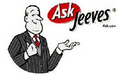 Ask Jeeves search link