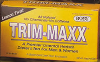 Trim-Maxx Tea Lemon 30 ct