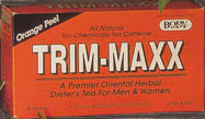 Trim-Maxx Tea Orange Peel 30 ct
